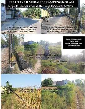 Tanah di Kampung Kolam Percut