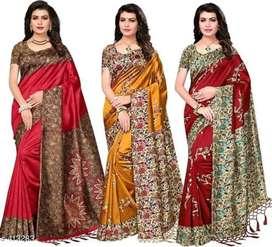 3 set saree combo offer