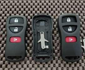 Casing, Cover Remote Nissan Grand Livina, Evalia 3 Tombol