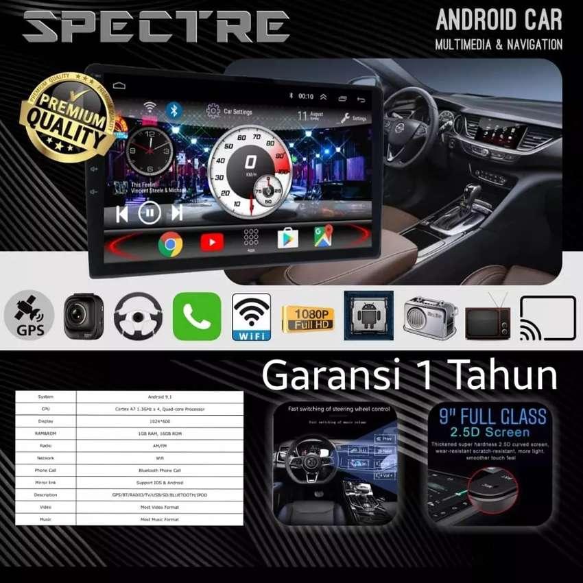 UPGRADE AUDIO HEAD UNIT 2DIN BEST ANDROID TV SPEC9.1 GPS SUZUKI IGNIS 0