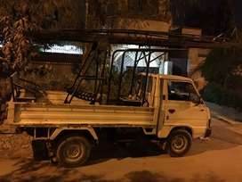 Truck mounted ladder for electrical works can be mount on shehzore/Kia