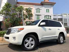 Land Cruiser 4.5 Diesel ATPM 2013 Nik13 White Km39rb Antik Sunroof PBD