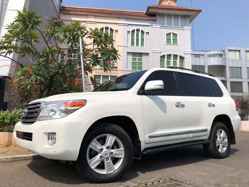 Land Cruiser 4.5 Diesel ATPM 2013 Nik13 White Km39rb Antik Sunroof PBD 0