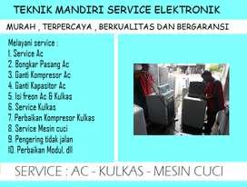Rajanya service Mesin cuci 1tabung ; Ac kurang dingin Showcase Kulkas