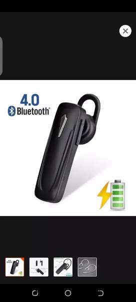Bluetooth stereo wireless headset