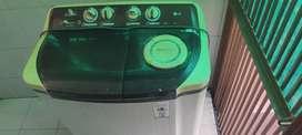 LG 8kg semi-automatic