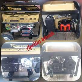 Genset maestro MT 7000 CE.gulungn full tembaga.bahan bakar bensin