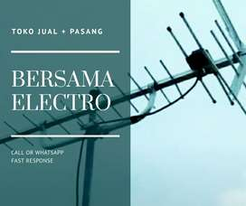 Ahli Tempat Pasang Signal Antena TV