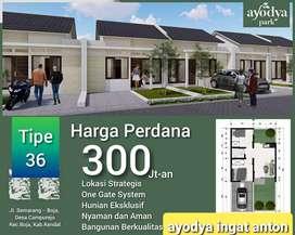 Rumah cluster baru ayodya park cangkiran mijen kedaton dkt bsb village