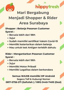Shopper dan Rider Surabaya