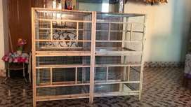 All cage availble