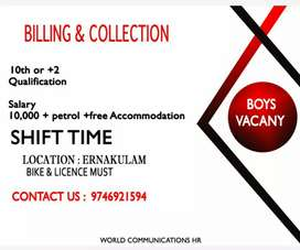 Billing and collection work