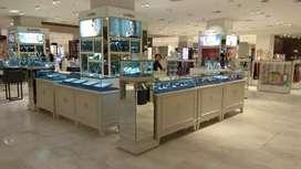 Etalase Perhiasan Kaca (ex Mall Seibu Grand Indonesia)