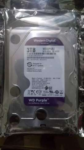 New full box Surveillance 3 TB hard disk