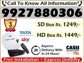 Best Deal Tata Sky New DTH Connection at Lowest price – All india Cel