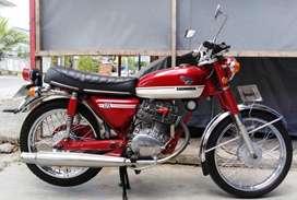 Honda Cb 125 tahun 1973