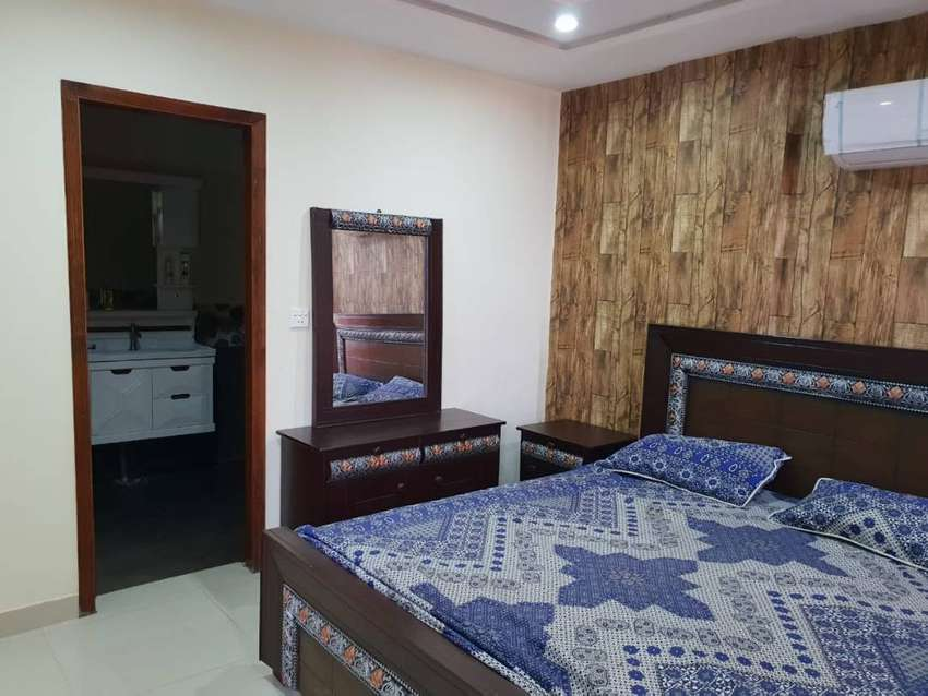 1 Bed Fully Furnished Apartment For Rent in Bahria Town Lahore 0