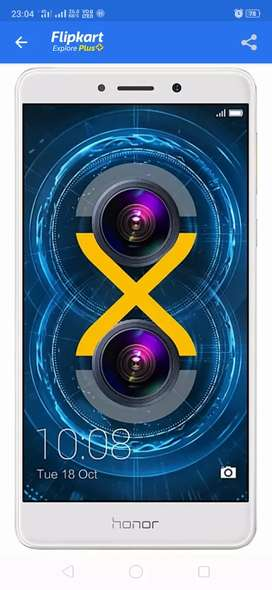 Honor 6x double camera Gold color