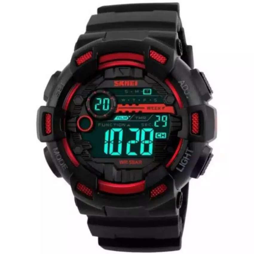 Jam Tangan SKMEI Cool Red WR 5 Atm 0