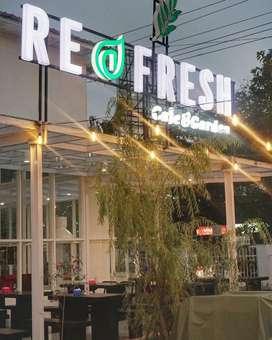 Dibutuhkan Crew Refresh Cafe & Garden