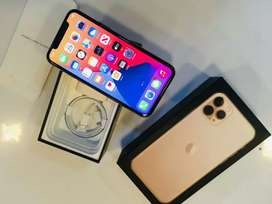 iPhone 11pro -64gb gold colour with warranty Available &emi option