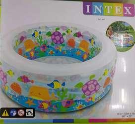 Mainan Edukasi Kolam Renang  besar Intex Aquarium Pool 152cm x 56cm