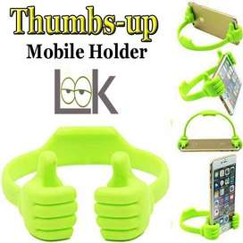 OK Stand Thumb Design Universal Mobile Stand for Cell Phones & Tablet