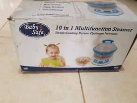 baby safe sterilizing and steam 10 in 1