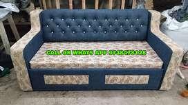 MODERN SOFA CUM BED (BRAND NEW)