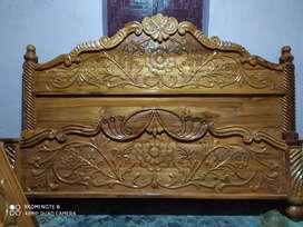 Tekwood bed 6×6