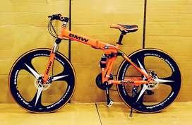 BMW folding cycle