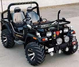 Jeep modified