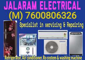 Home service for Refrigerator& Air conditioner Repairing just RS 150/-