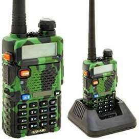 Original Baofeng UV-5R Walkie TAlkie (Camouflage Color) Limited Pcs