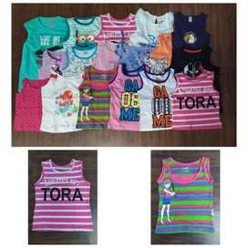 SUMMER Skirt Set Export summer stocklot wholesale garments t-shirt