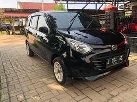 Daihatsu Sigra X up R 1.2 M/T th 2018 hitam KM 54rb  Nopol A serang