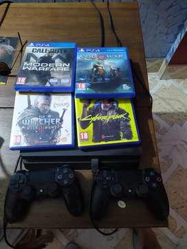 PS4 SLIM 1 TB.. bought in November 2017