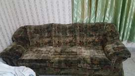 Sofa set 6 seater for sale 5year's used