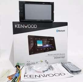 Ddin Dvd Usb BT Kenwood Ddx419BT, Resmi