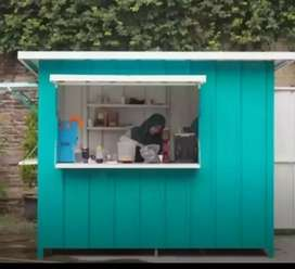 BOOTH CONTAINER/CONTAINER CAFE/CONTAINER COFFEE/BOOTH MINUMAN