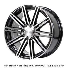 VELG RACING HSR R16X7 H8X100-114,3 ET35 BMF