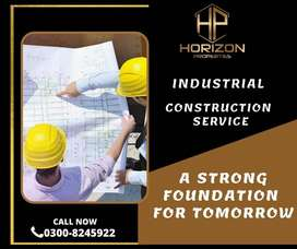 A Well-Manner Industrial Construction Service on easy installments.