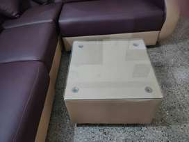 Brand new L Corner Shaped Sofa with center