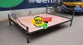 wholesale Wooden Steel Fancy cot  Single Double Queen King Size Bed