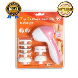 Massager and callous 7in1
