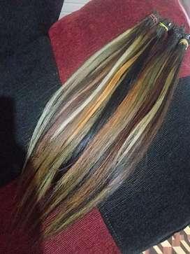 Rambut sambung 40cm 76helai 275