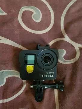 Kamera gopro hero 4 silver banyak aksesoris