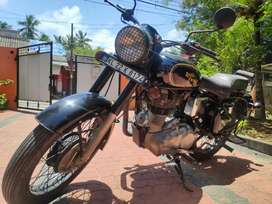 2017 Royal Enfield Standard 350 with manual decompression installed.