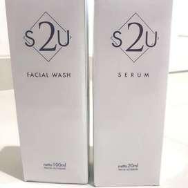 S2U Serum Facial Wash Paketan