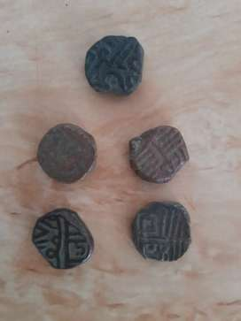Vintage old coins of Indus Valley Civilization